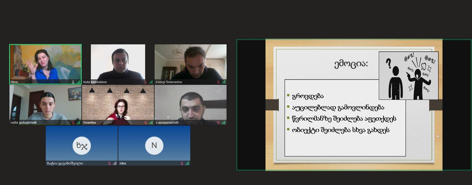 Training on the methods of effective communication